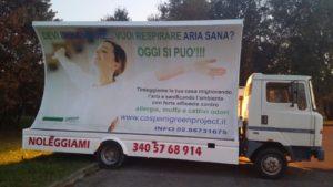 Camion Vela a Saronno