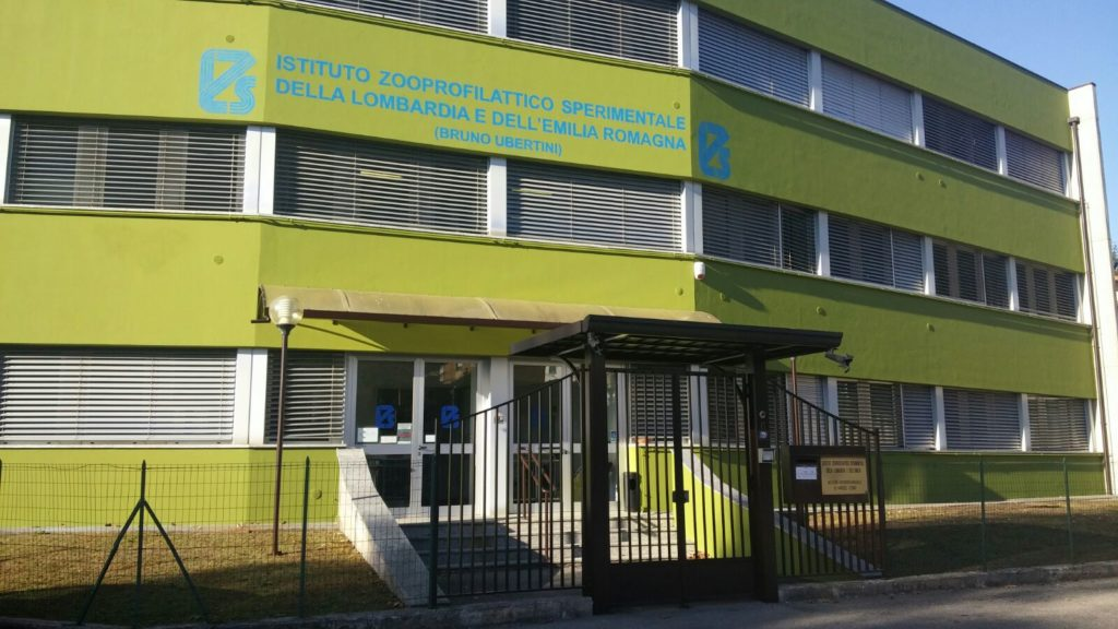 Tinteggiatura con finitura fotocatalitica presso Istituto Zooprofilattico Sperimentale Regione Lombardia