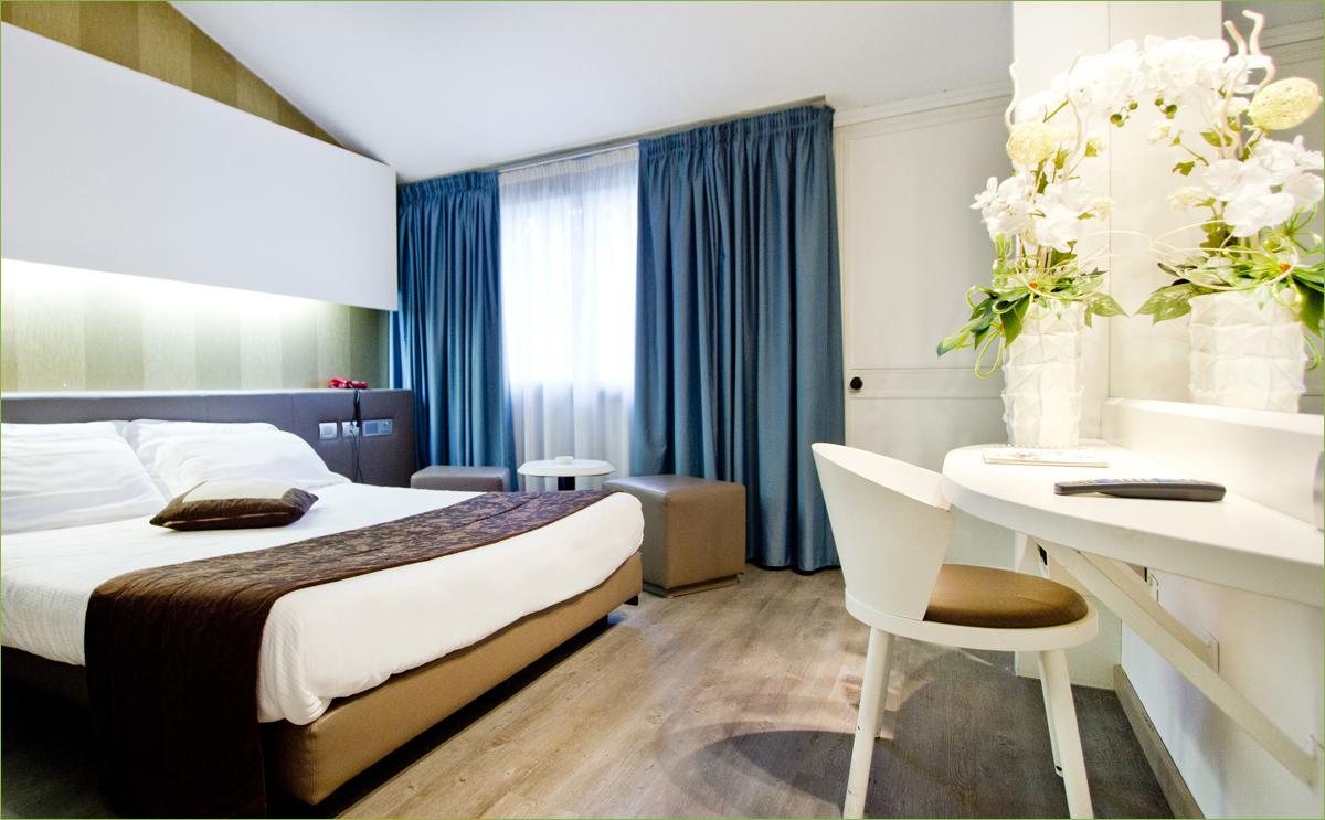 aria pura nelle stanze degli alberghi