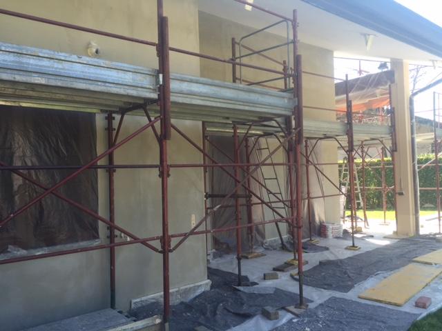 Tinteggiatura facciata Saronno